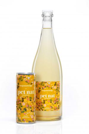 Benjamin Bridge pét-nat in a can