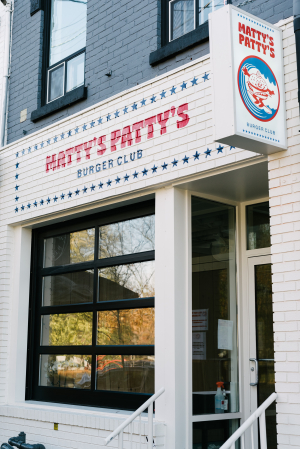 Matty Matheson | The exterior of Matty's Patty's