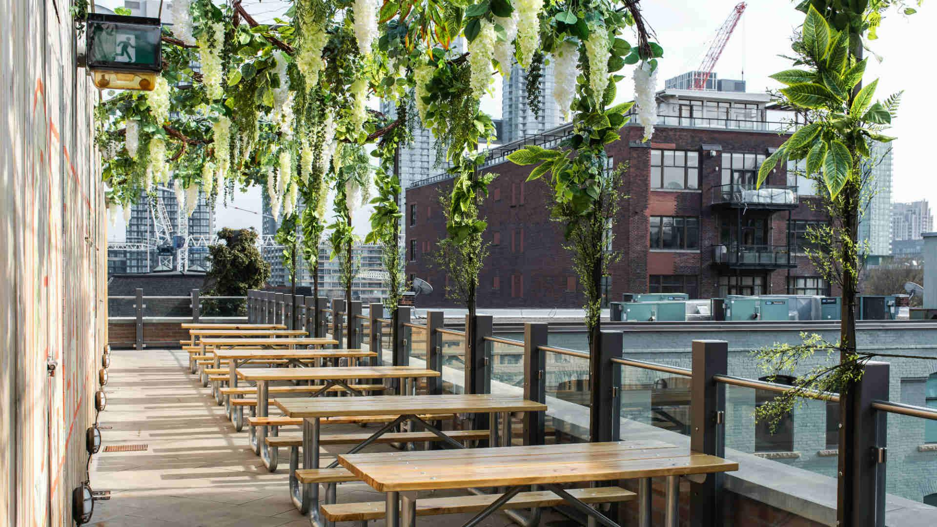 The best patios in Toronto: Baro