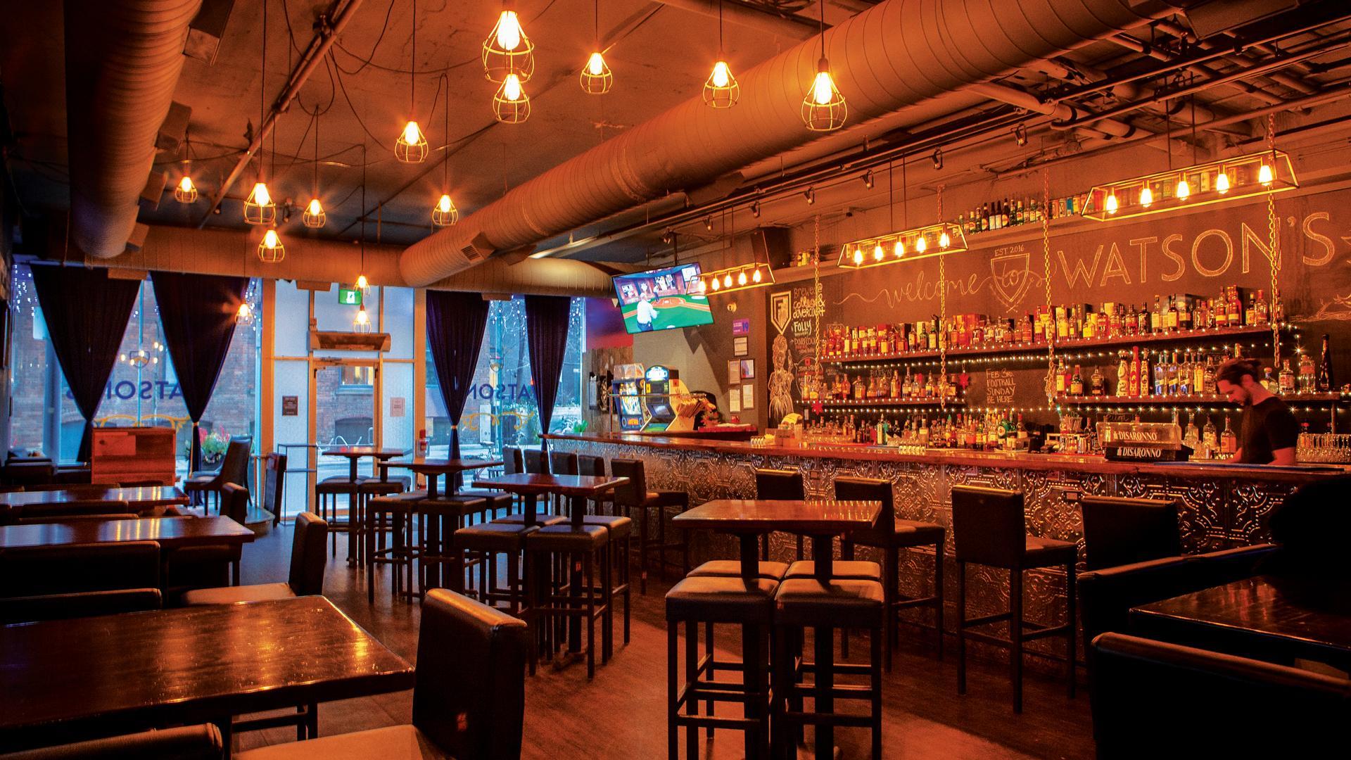 Toronto bars: Watson's