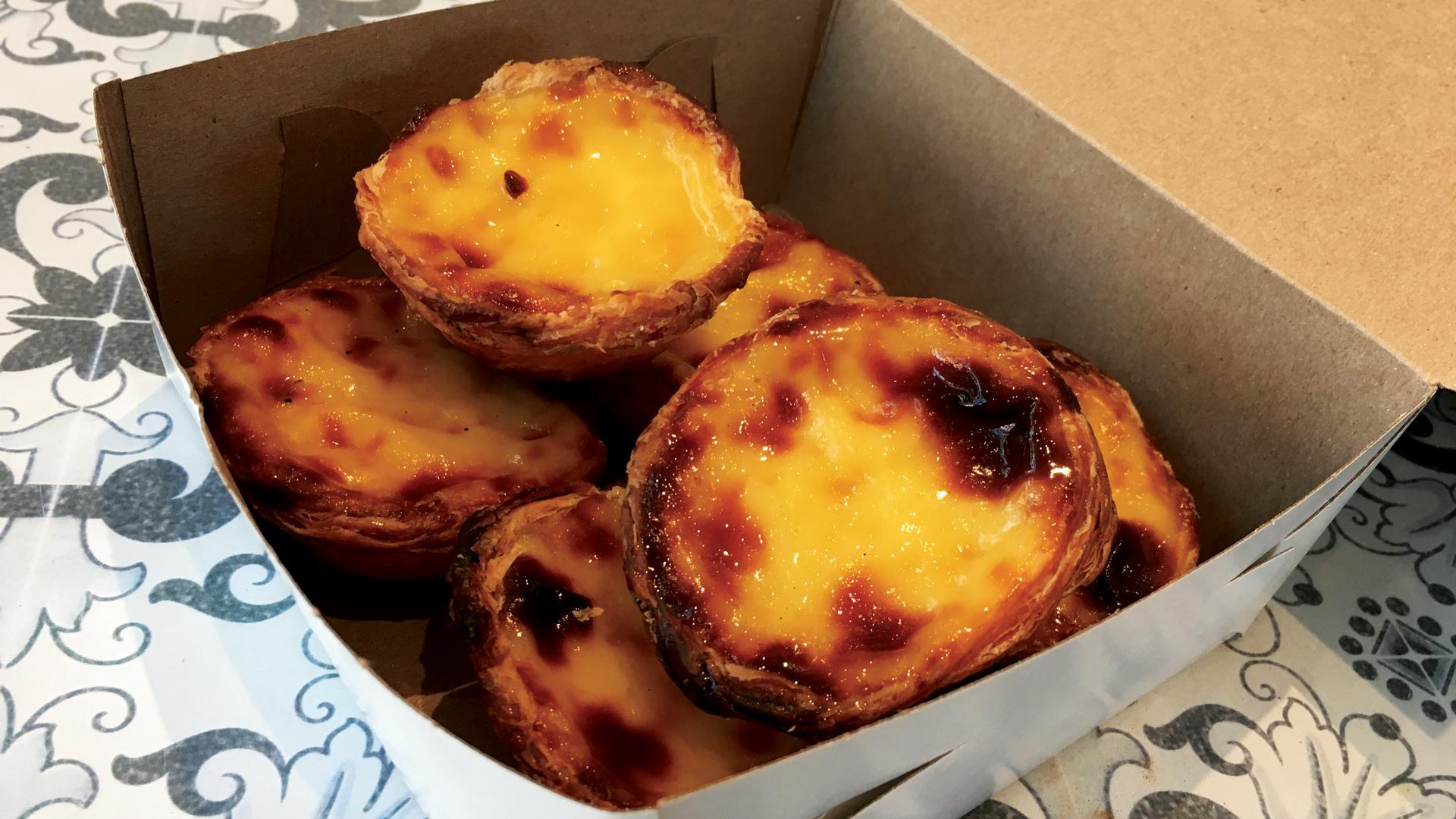 Venezia Bakery Portuguese custard tarts