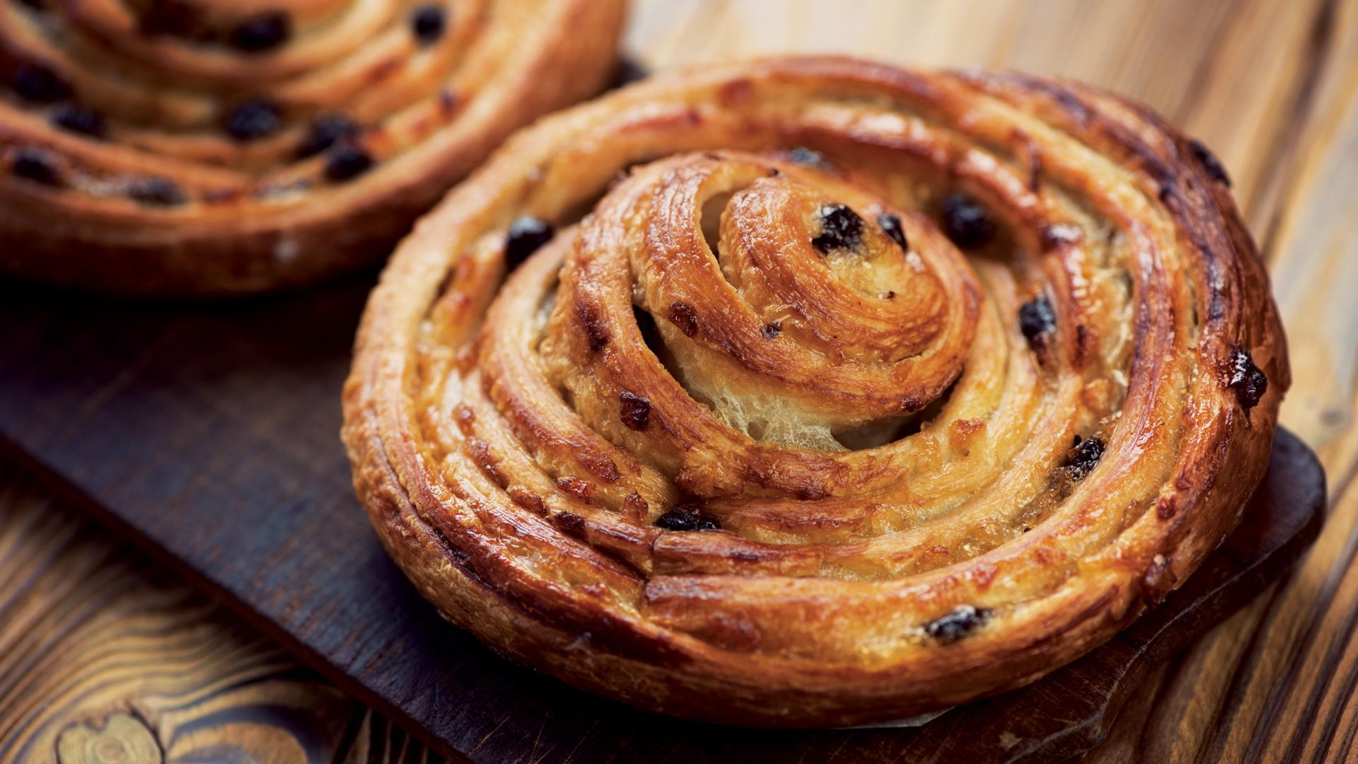 Fleur du Jour snail pastry