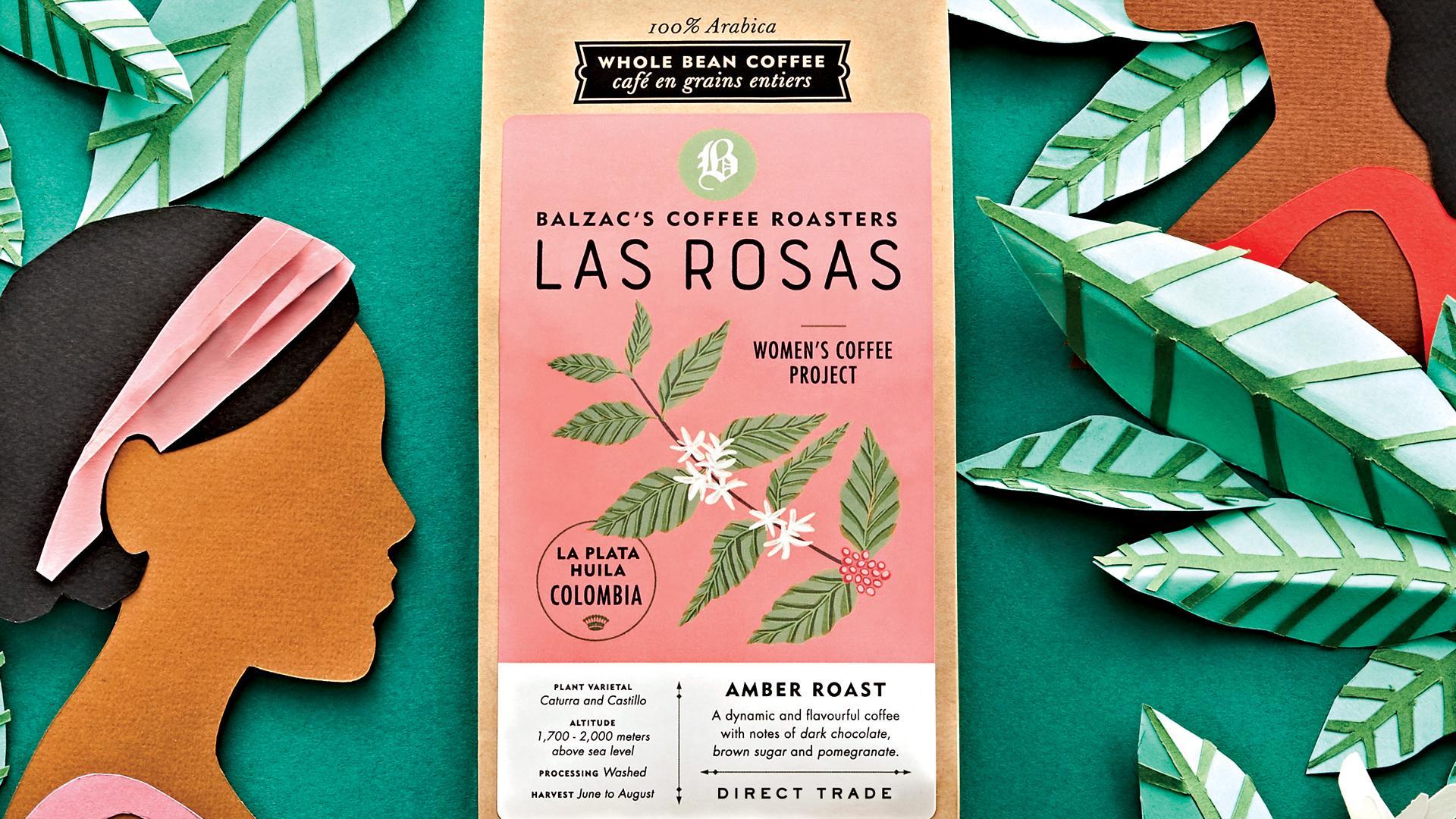Balzac's Las Rosas Amber Roast