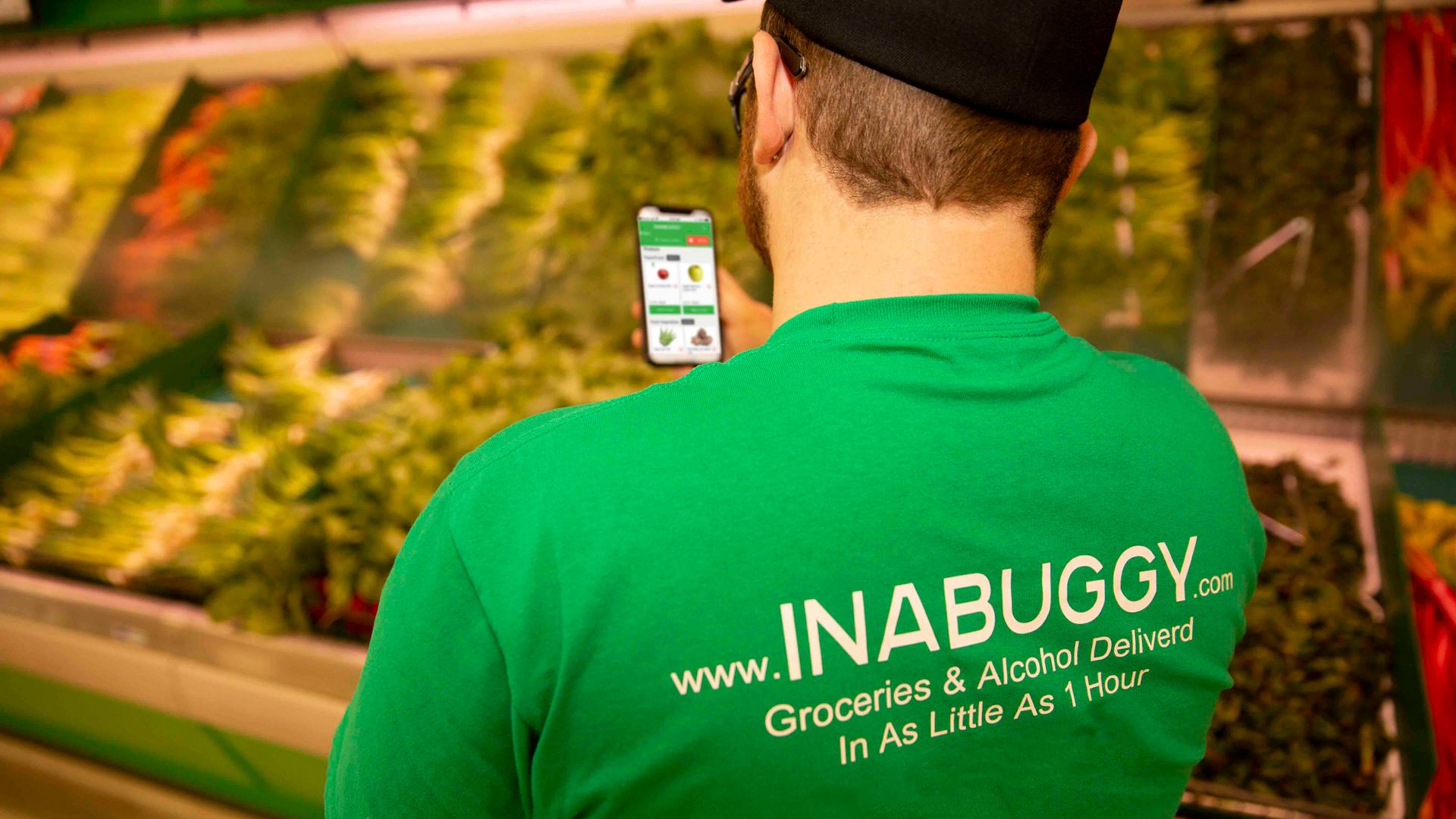 Inabuggy grocery and alcohol delivery service