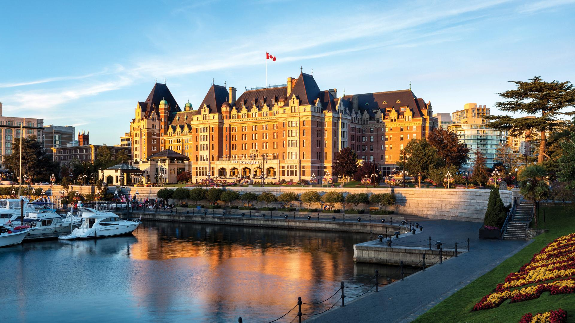 Where to have high tea in Victoria, B.C.: The Fairmont Empress hotel