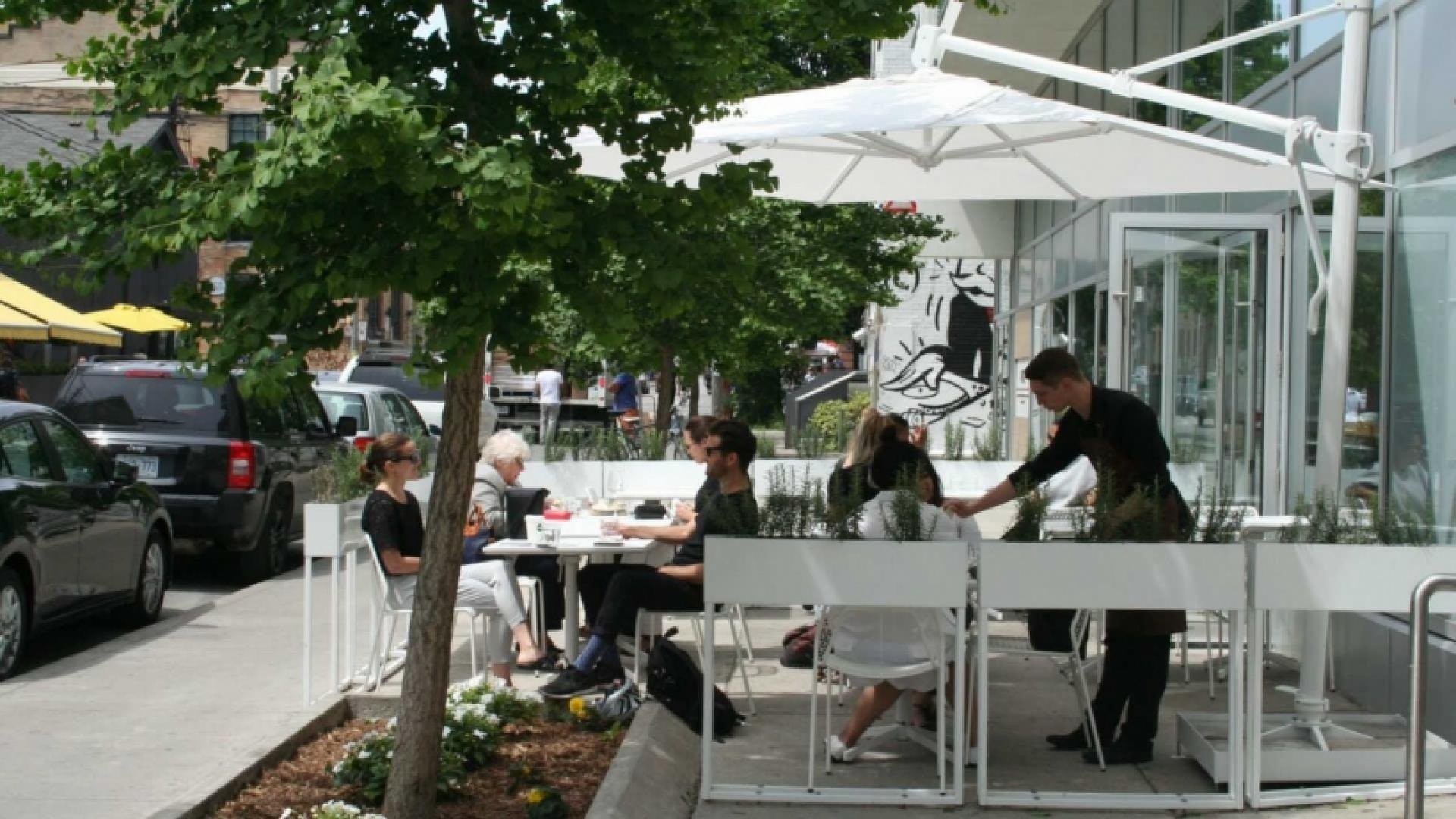 The best patios in Toronto: Bar Buca on King West