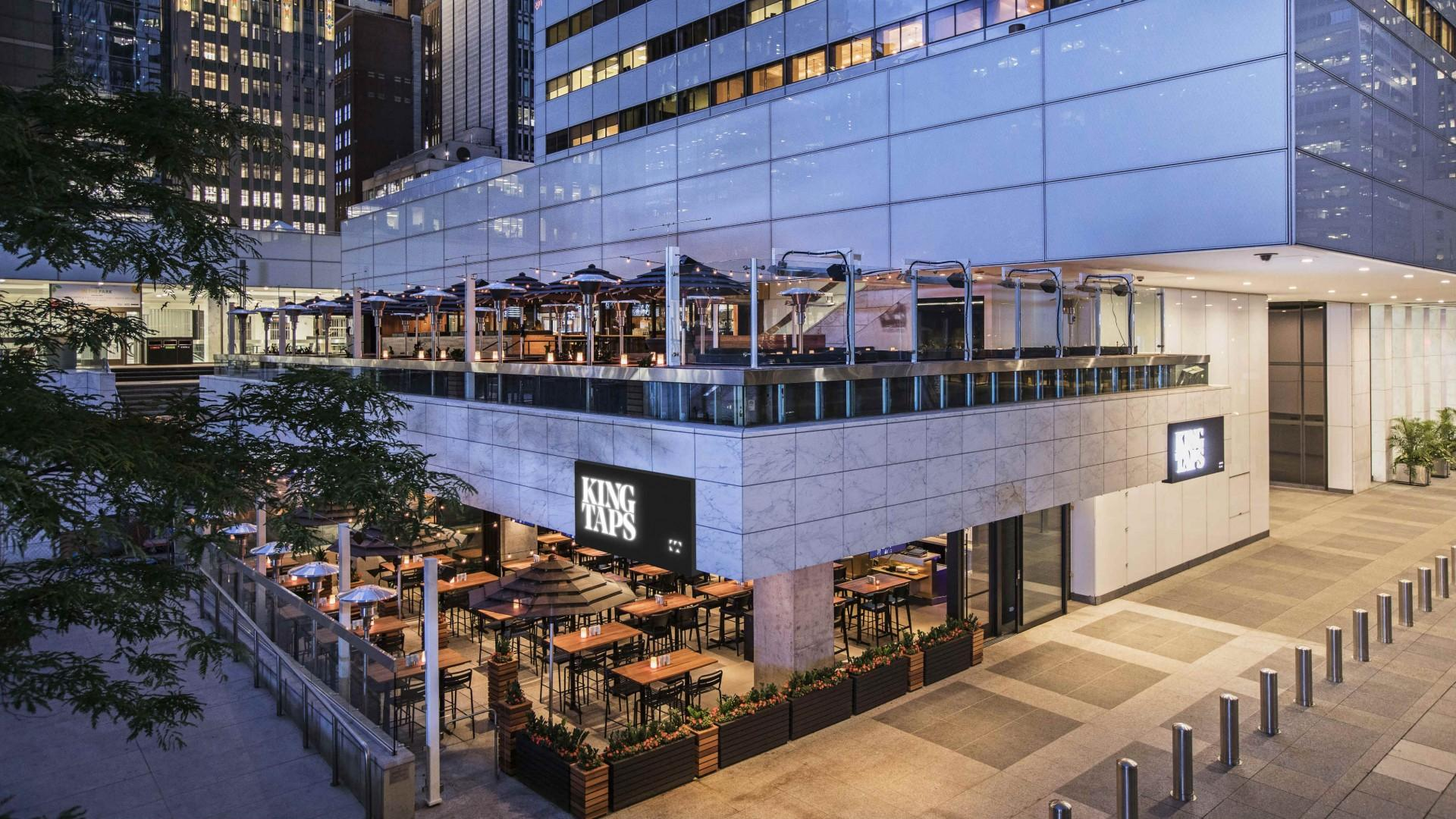 The best patios in Toronto: King Taps