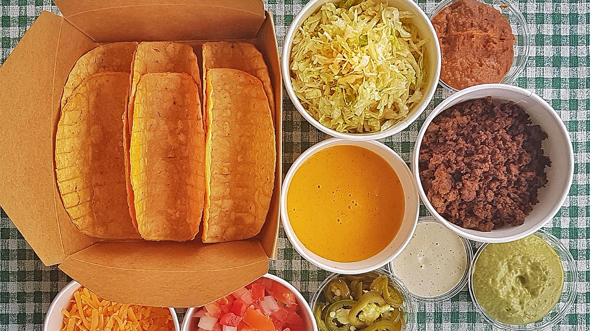 Toronto restaurants selling picnic-ready meals for delivery and pickup  | Hotmess Tex Mess Taco Kit