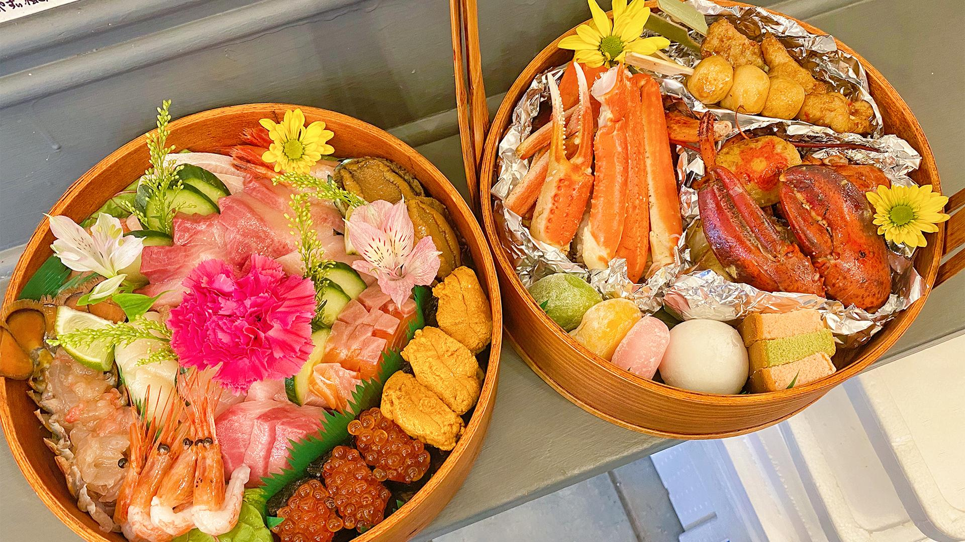 Toronto restaurants selling picnic-ready meals for delivery and pickup  | Oo-Kinza Fish House Omakase Basket