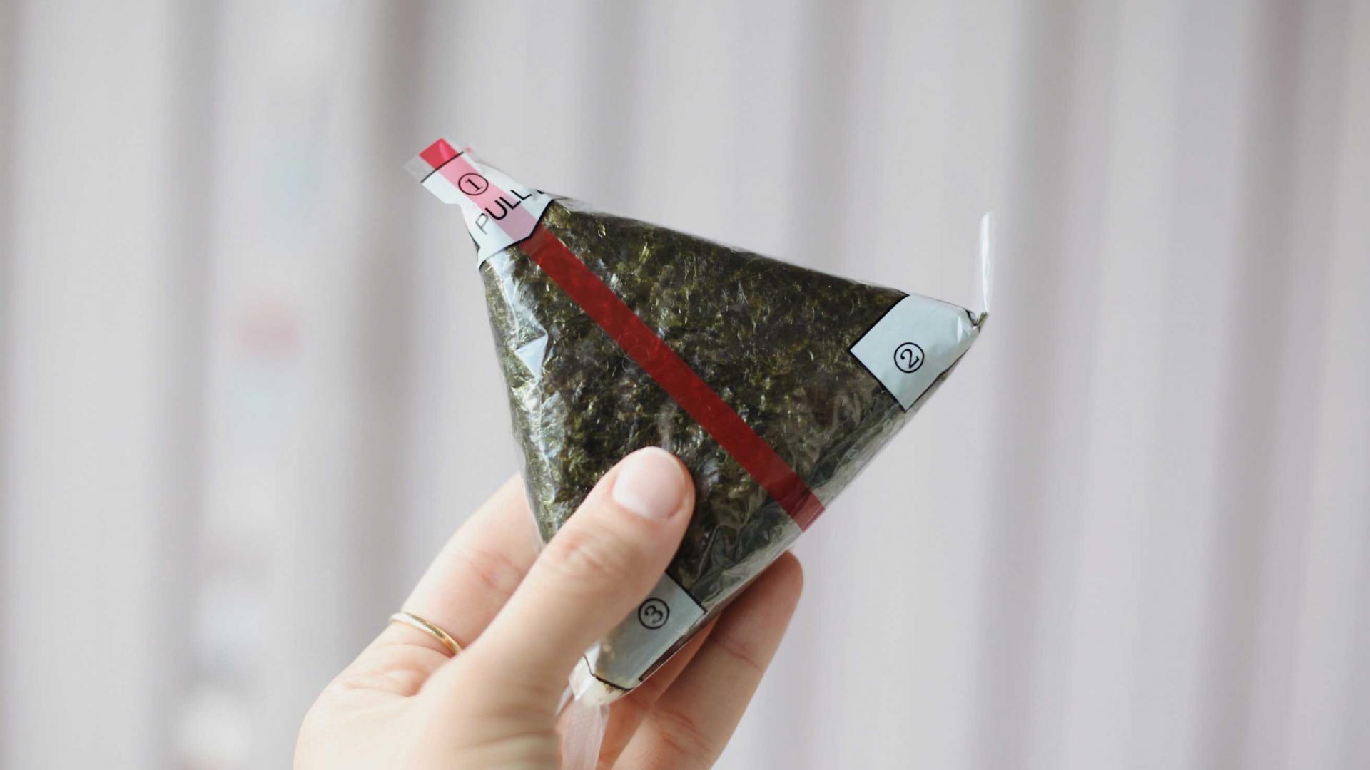 International snacks | onigiri rice ball