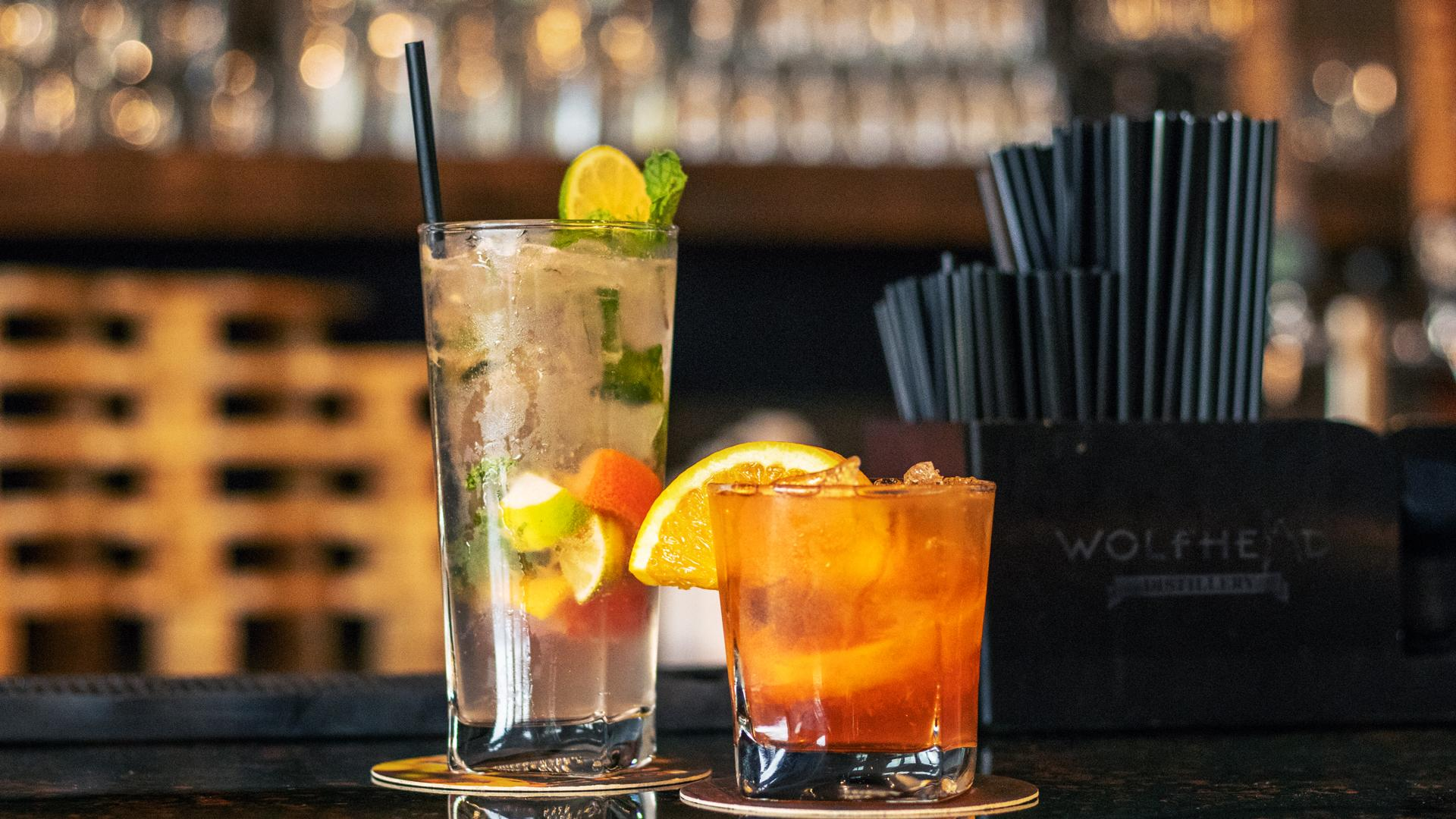 The best places to eat and drink in Windsor this fall | drinks at Wolfhead distillery