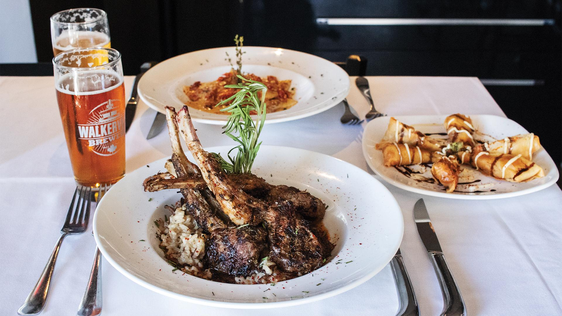 The best places to eat and drink in Windsor this fall | lamb at Mezzo Ristorante