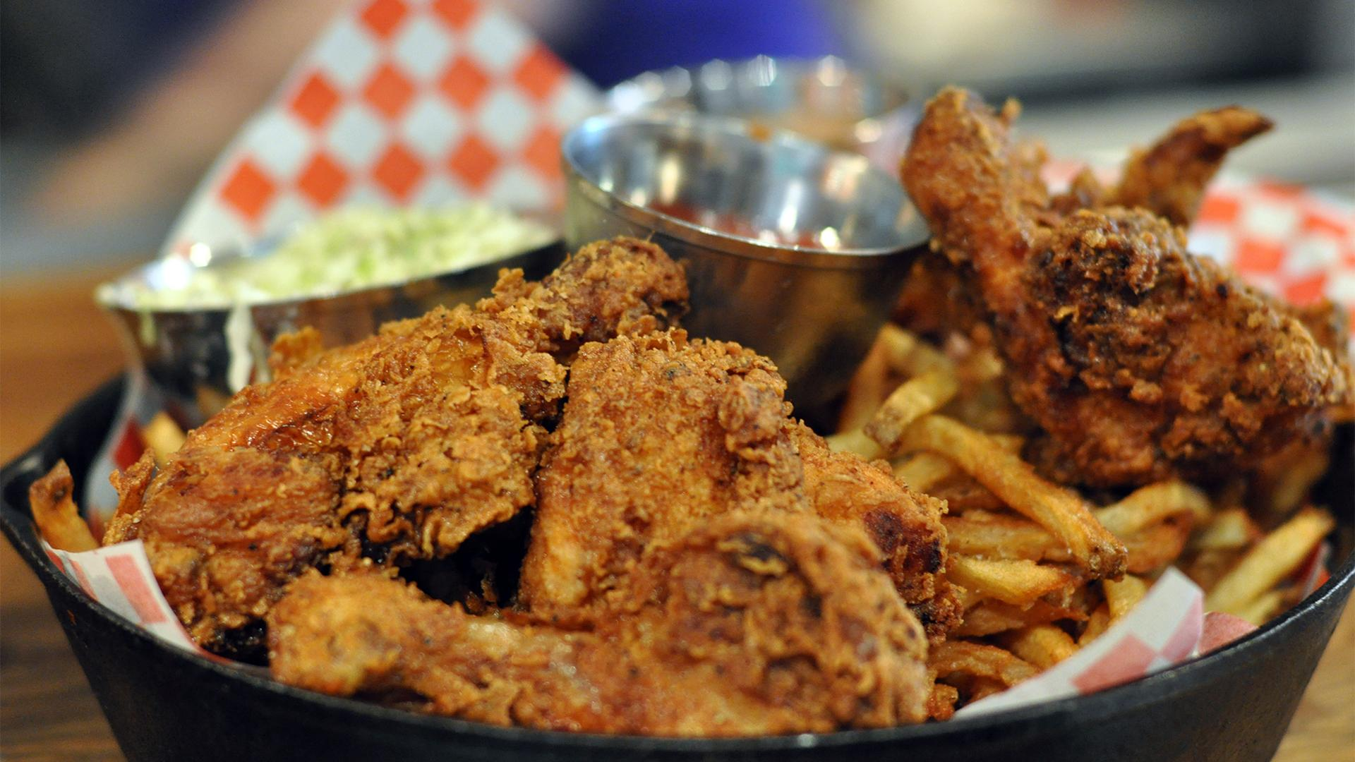 Best Southern soul food restaurants Toronto | fried chicken at the Stockyards