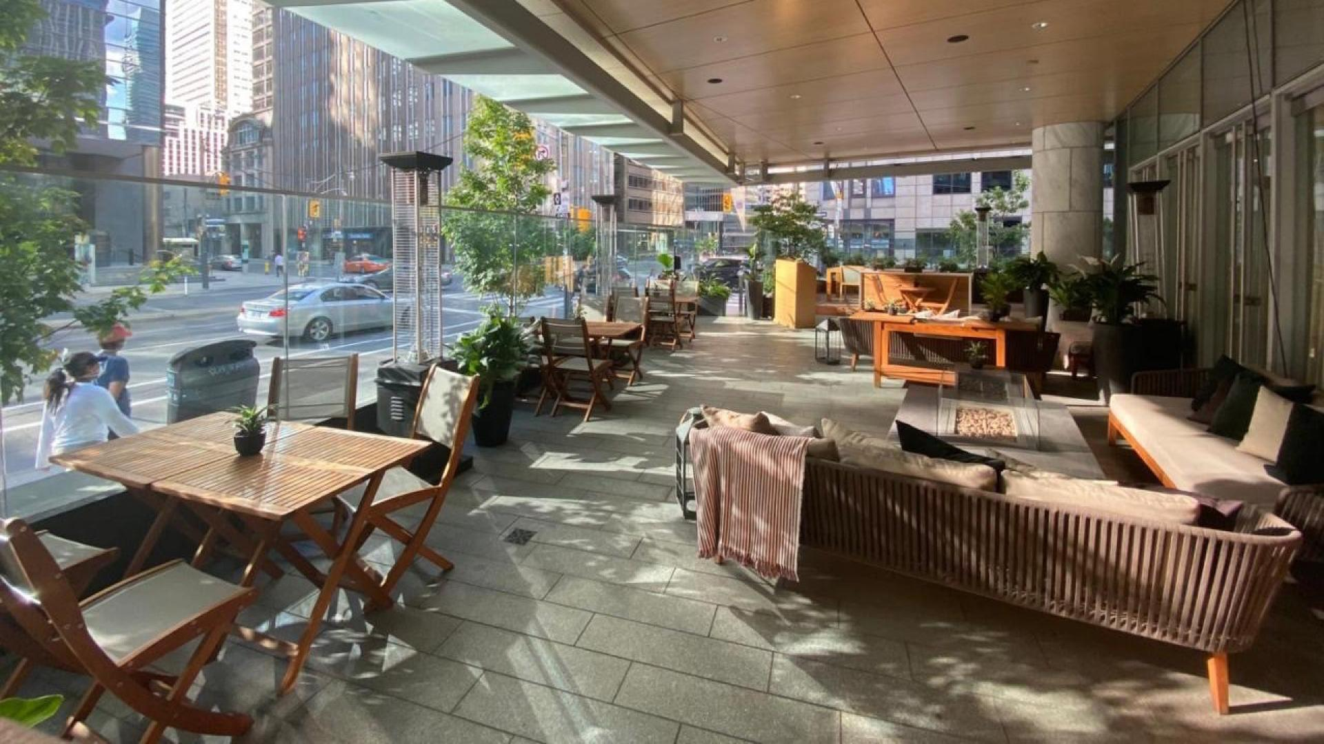 The best patios in Toronto | The Shangri-La Patio
