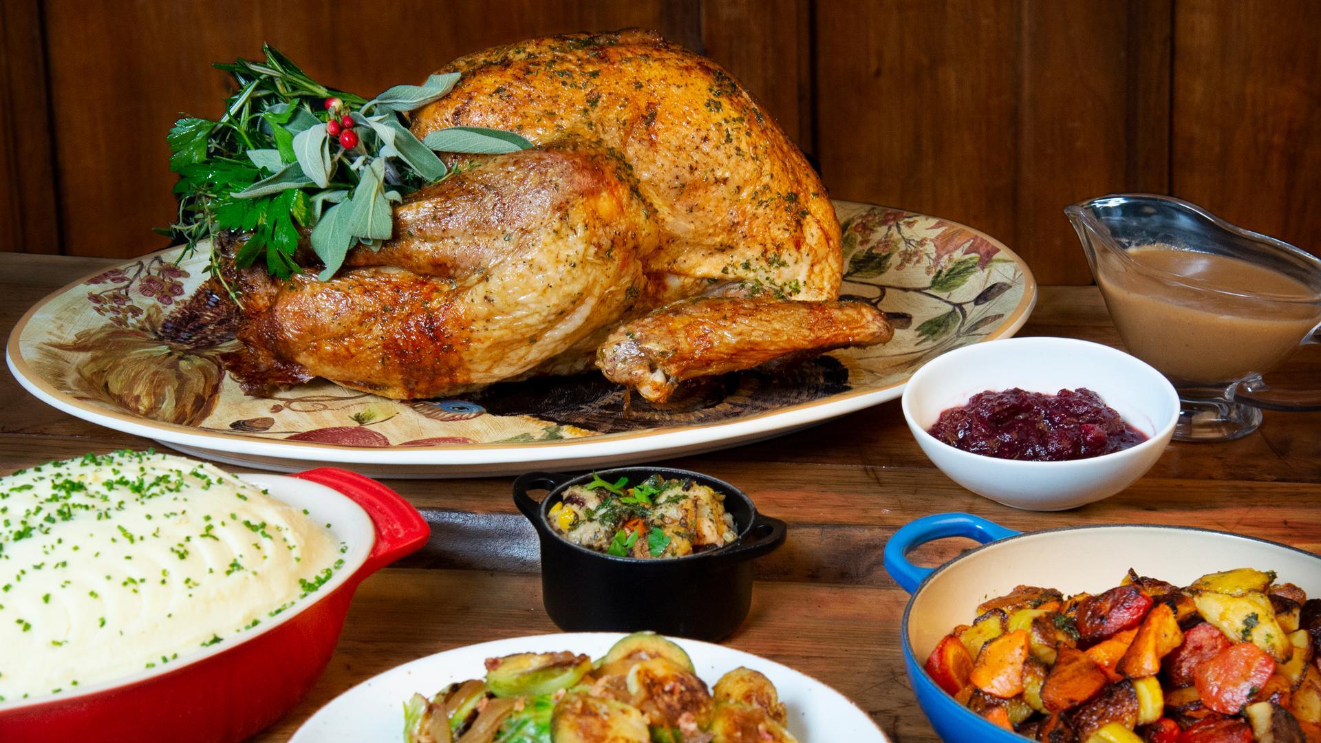 Thanksgiving dinner in Toronto   McEwan Turkey Dinner