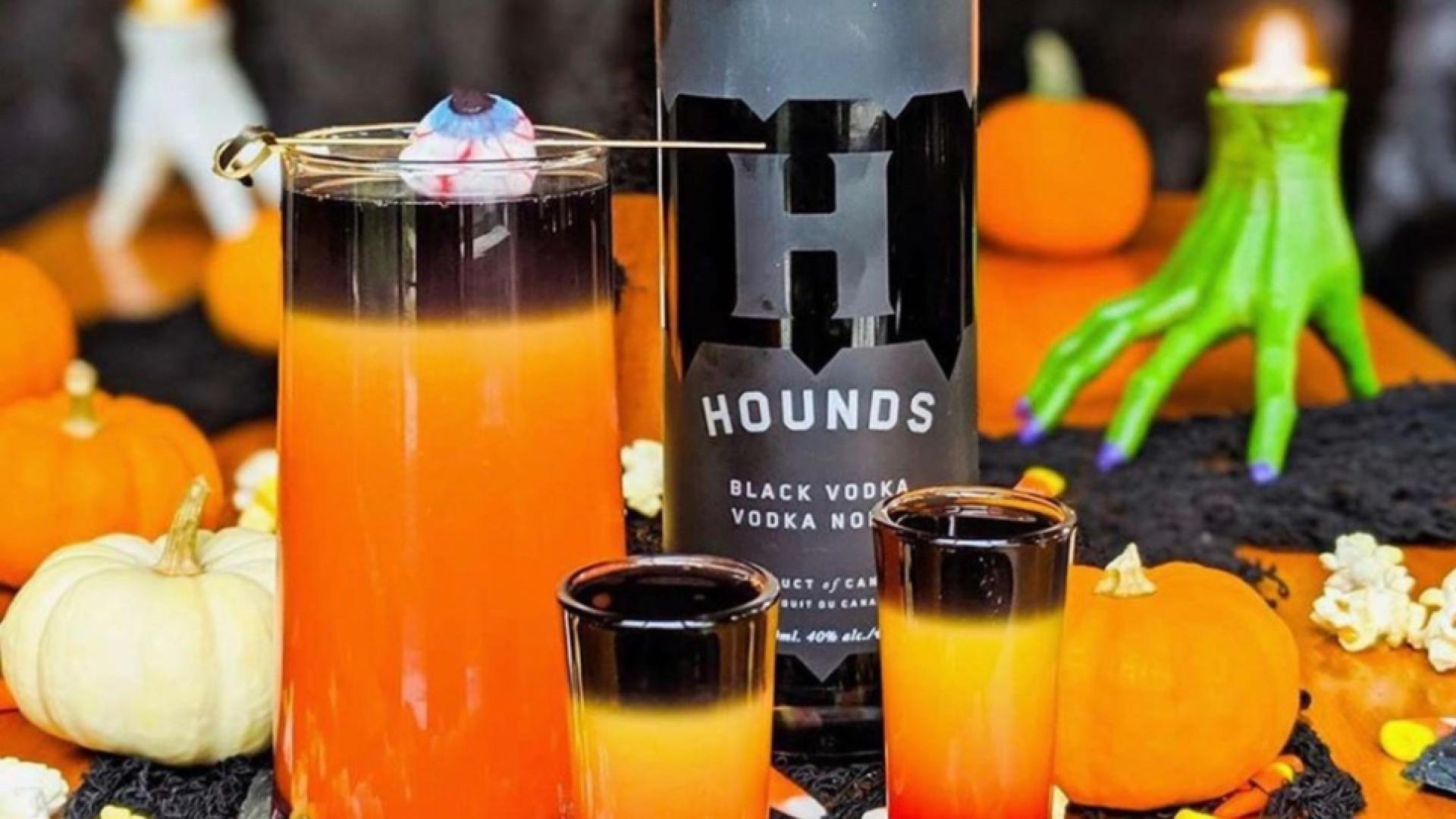 Things to do in Toronto this October | Hounds Black Vodka Halloween cocktails