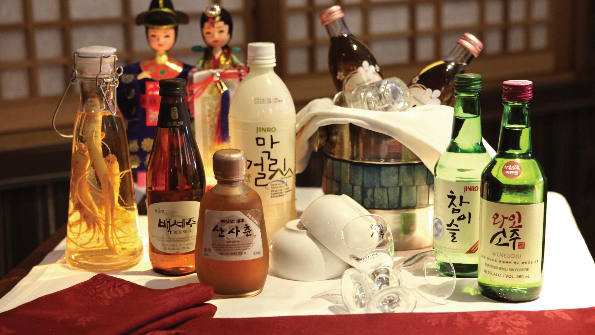 Where to drink soju in Toronto | Kimchi Korea House