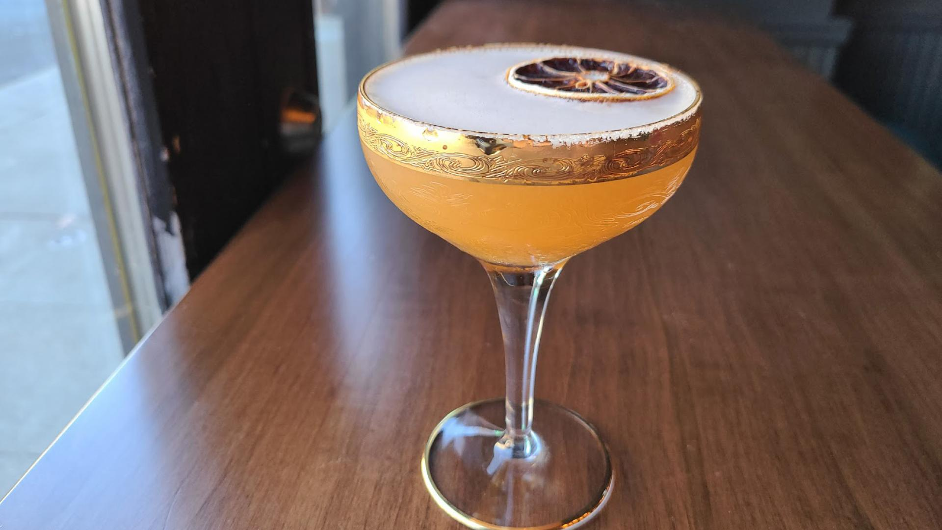 Christmas cocktails and winter drinks to make this season | The Last Leaf cocktail from Project Gigglewater in Toronto