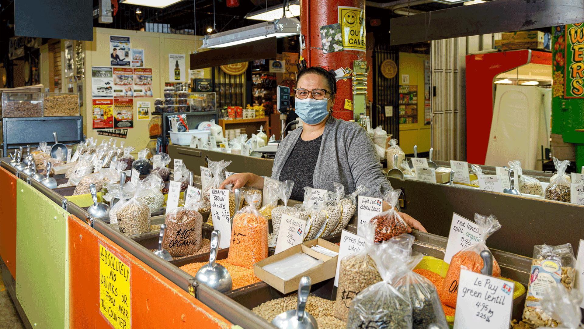 Support local with St. Lawrence Market holiday shopping guide | Aida Koduzi, Rube's Rice