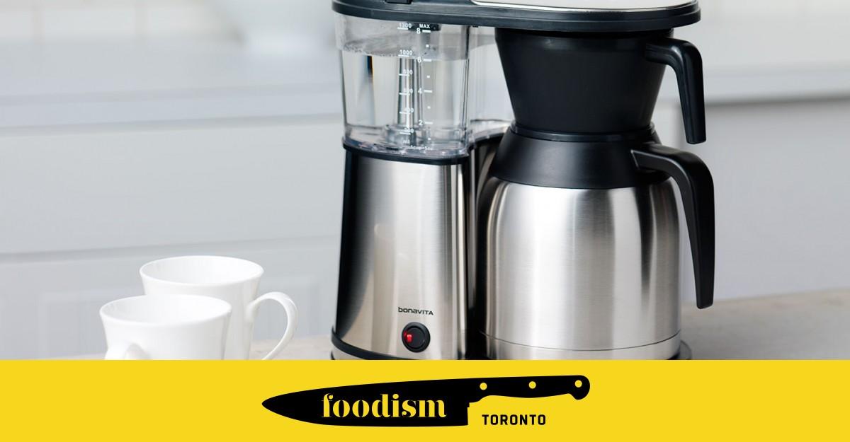 Bonavita Coffee Maker Not Hot : Weapons of Choice: Bonavita s 8-Cup Coffee Maker Foodism TO