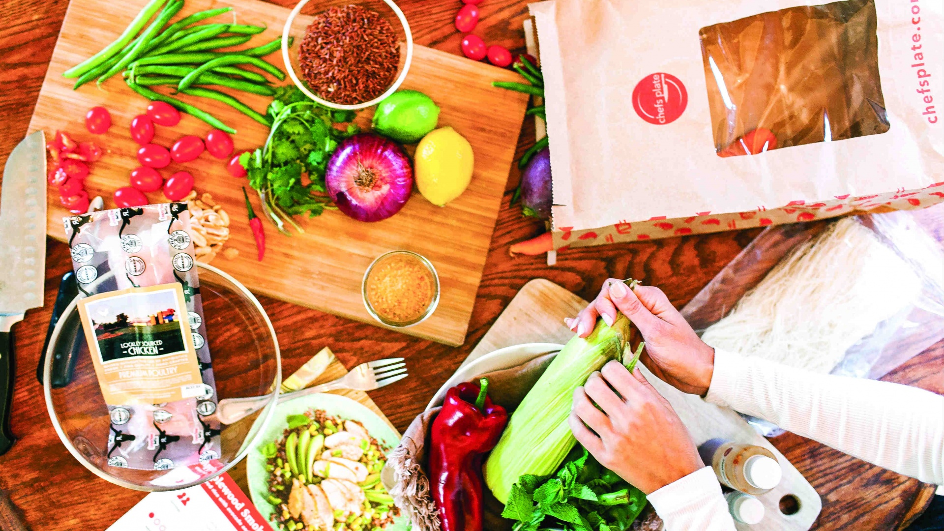 Win Three Months of Chefs Plate Meals for Two