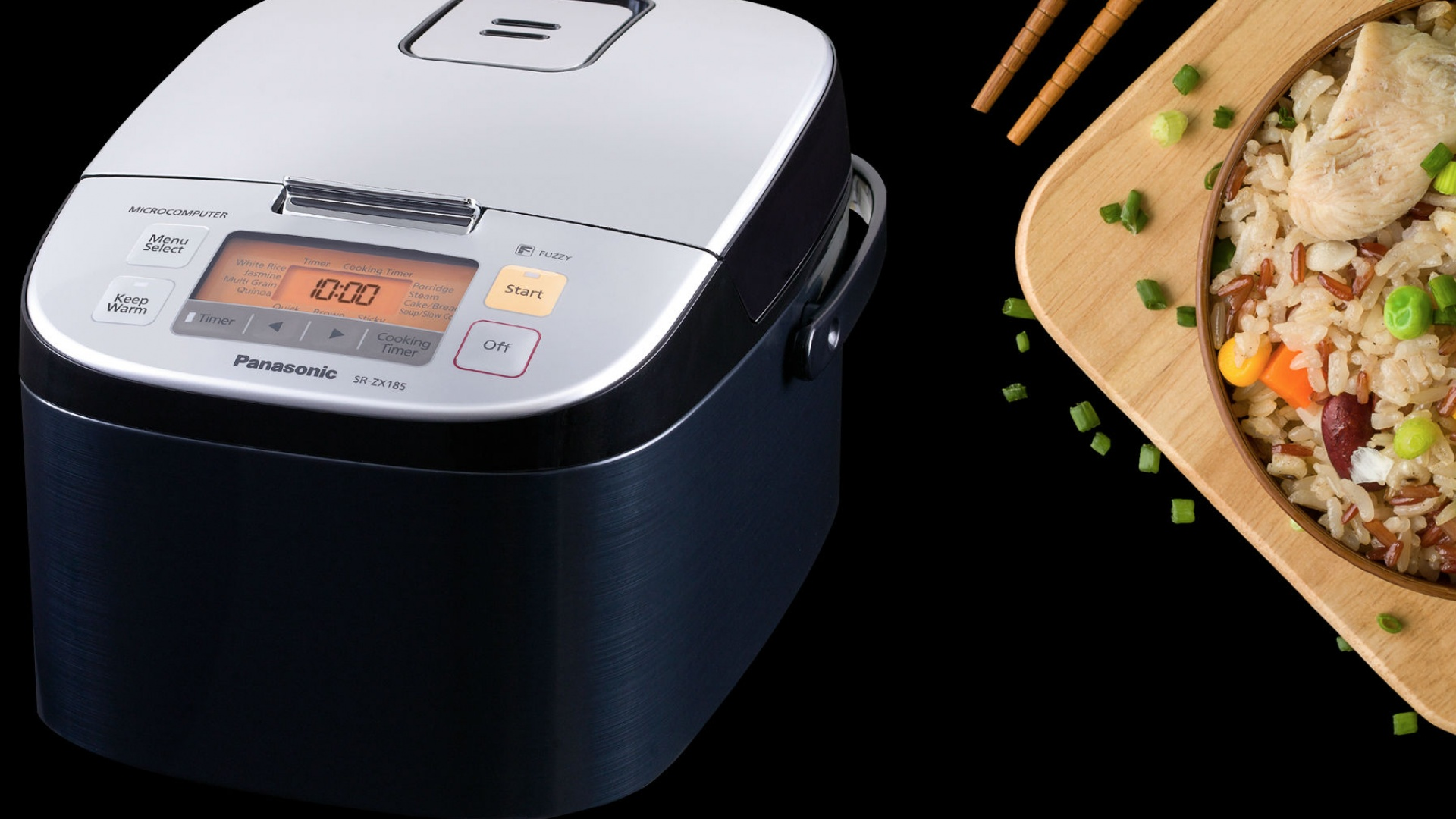 Weapons of Choice: Panasonic SR-ZX185 Rice Cooker