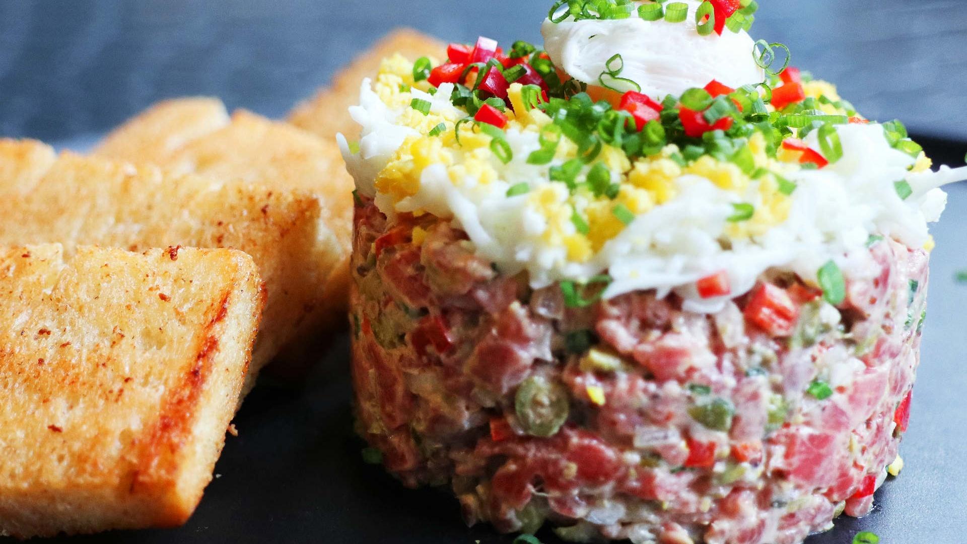 Make This: STK's Beef Tartare