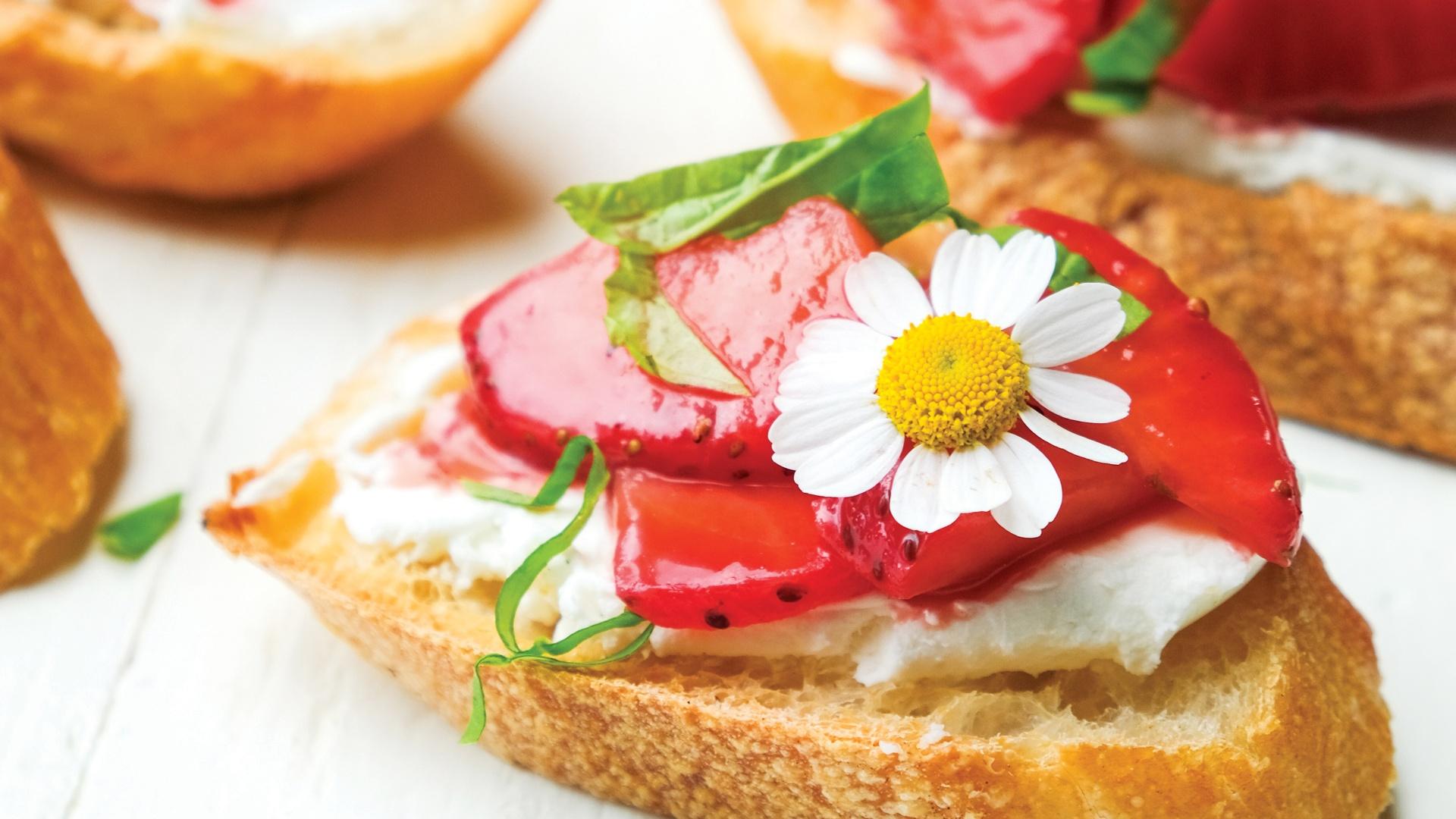 California strawberry recipe