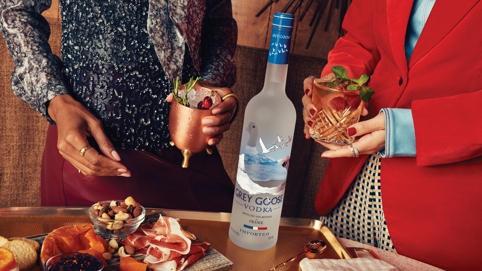 Grey Goose holiday cocktails