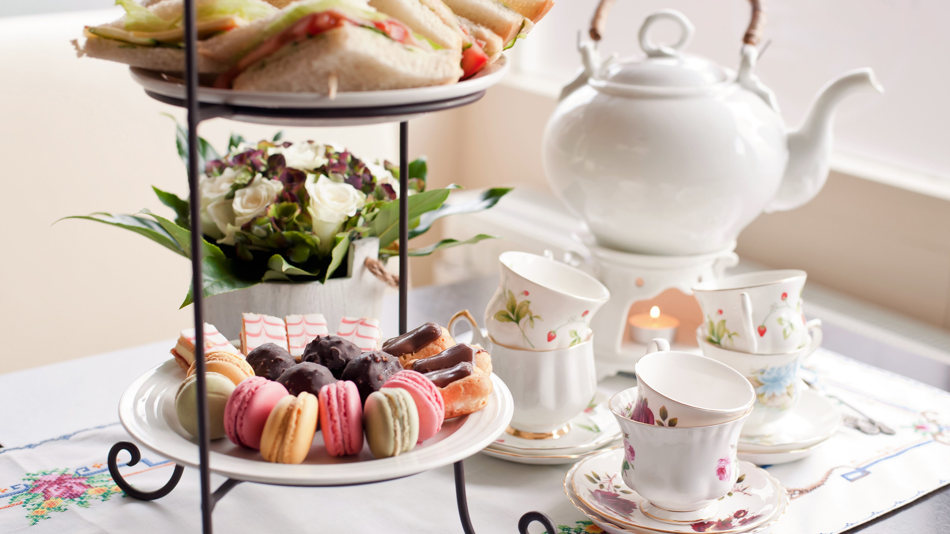 The top spots for afternoon tea