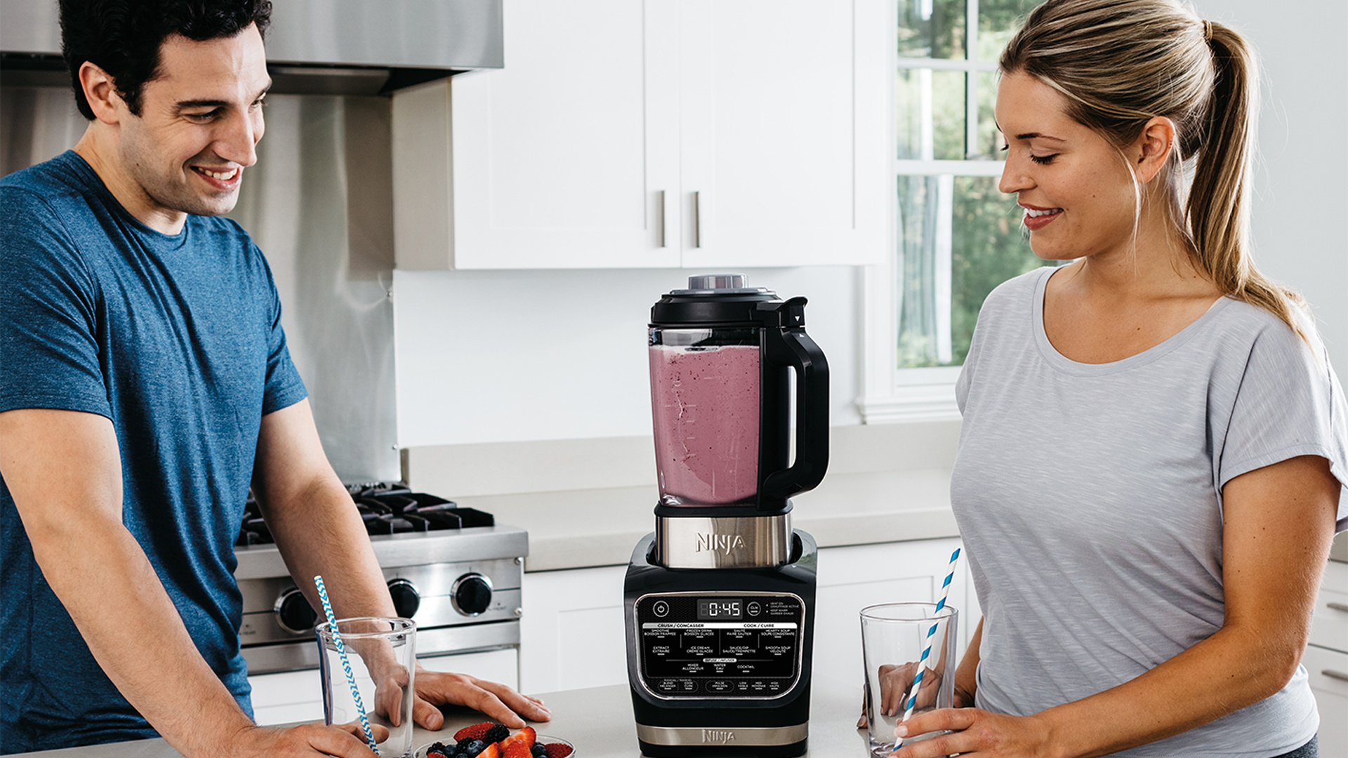 Ninja Foodi hot and cold blender review and recipe