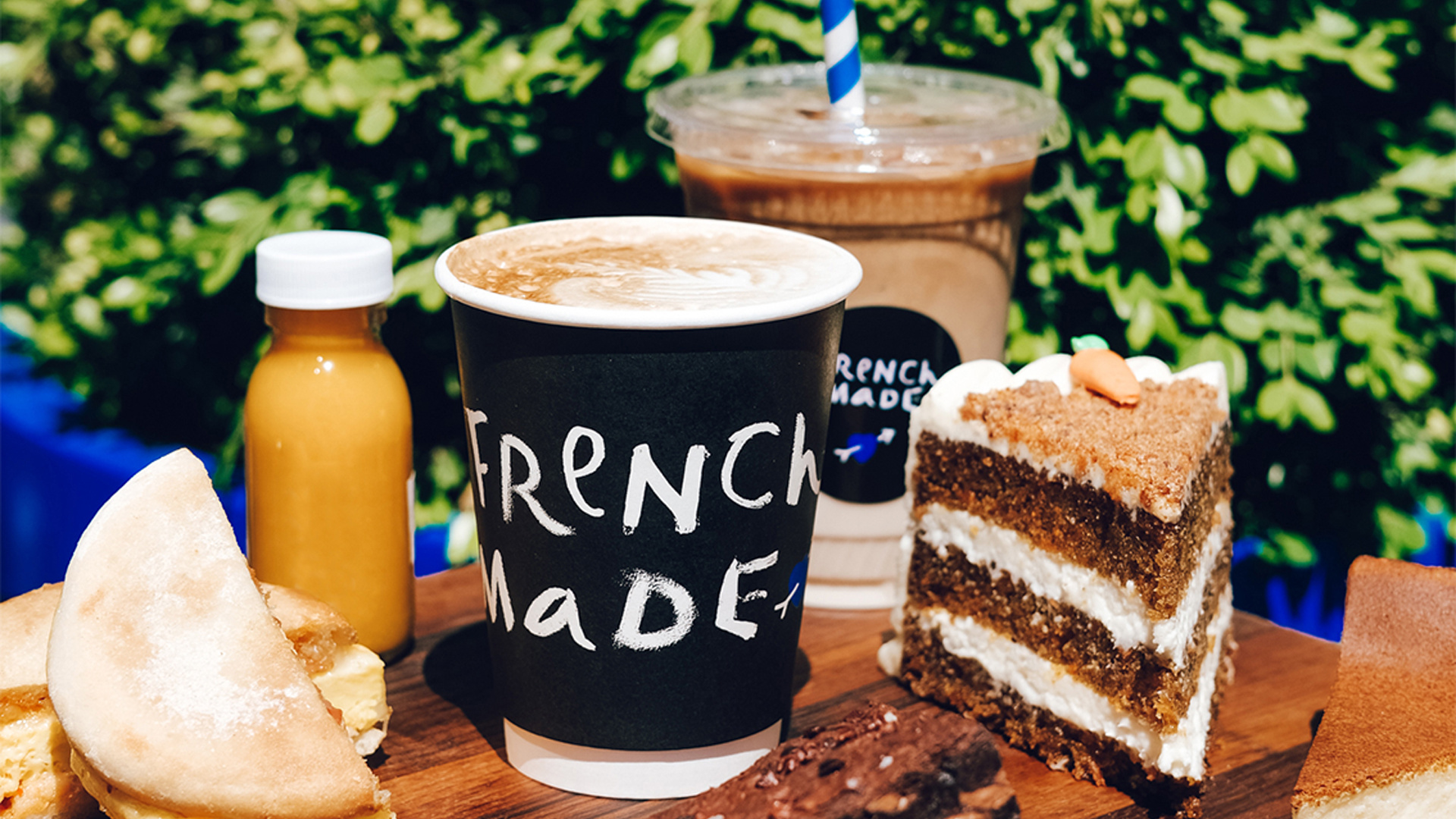 French Made Delivery Review   coffee and cake