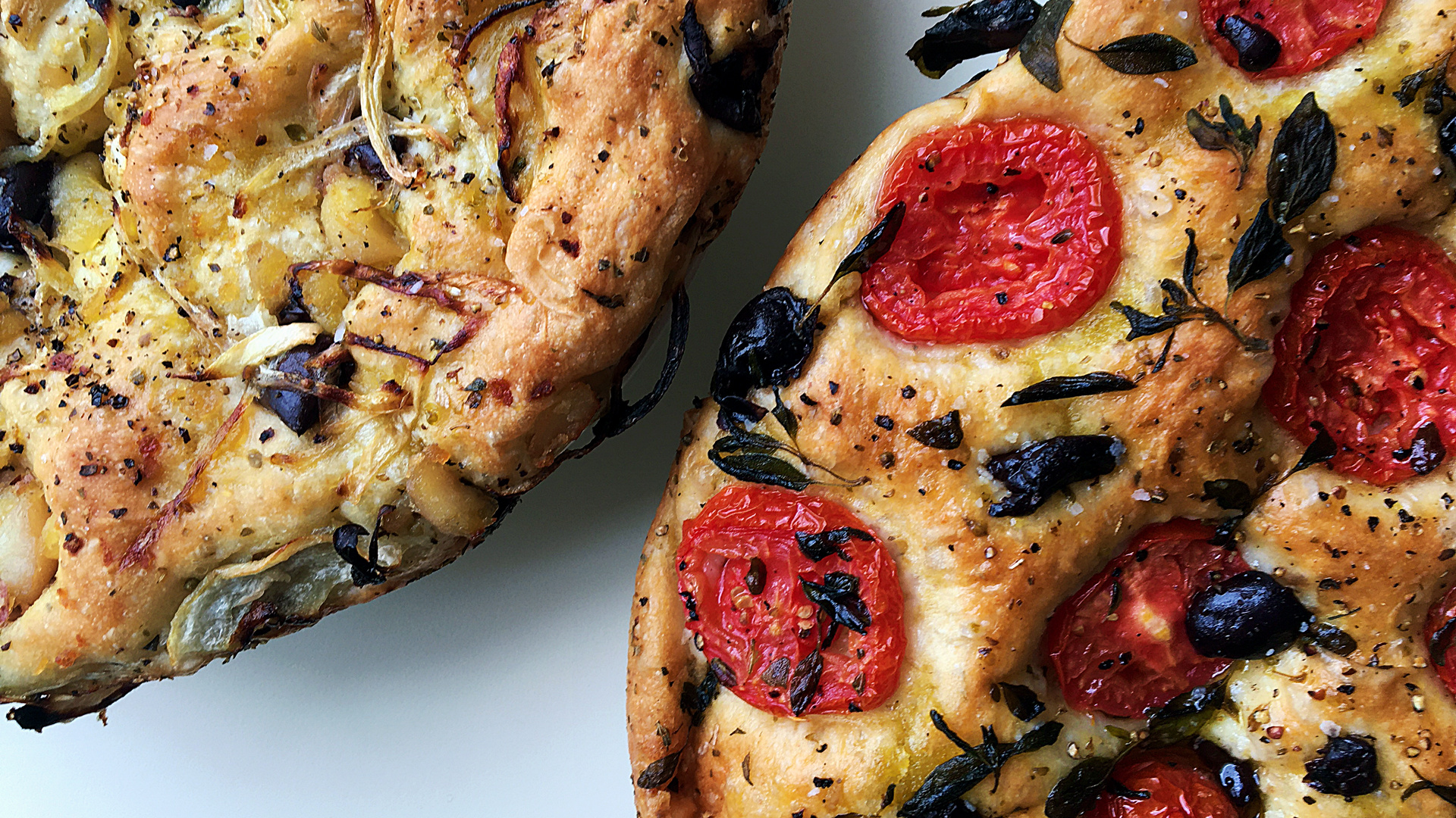 Home-cooked food delivery in Toronto: O.G. Fine Foods focaccia