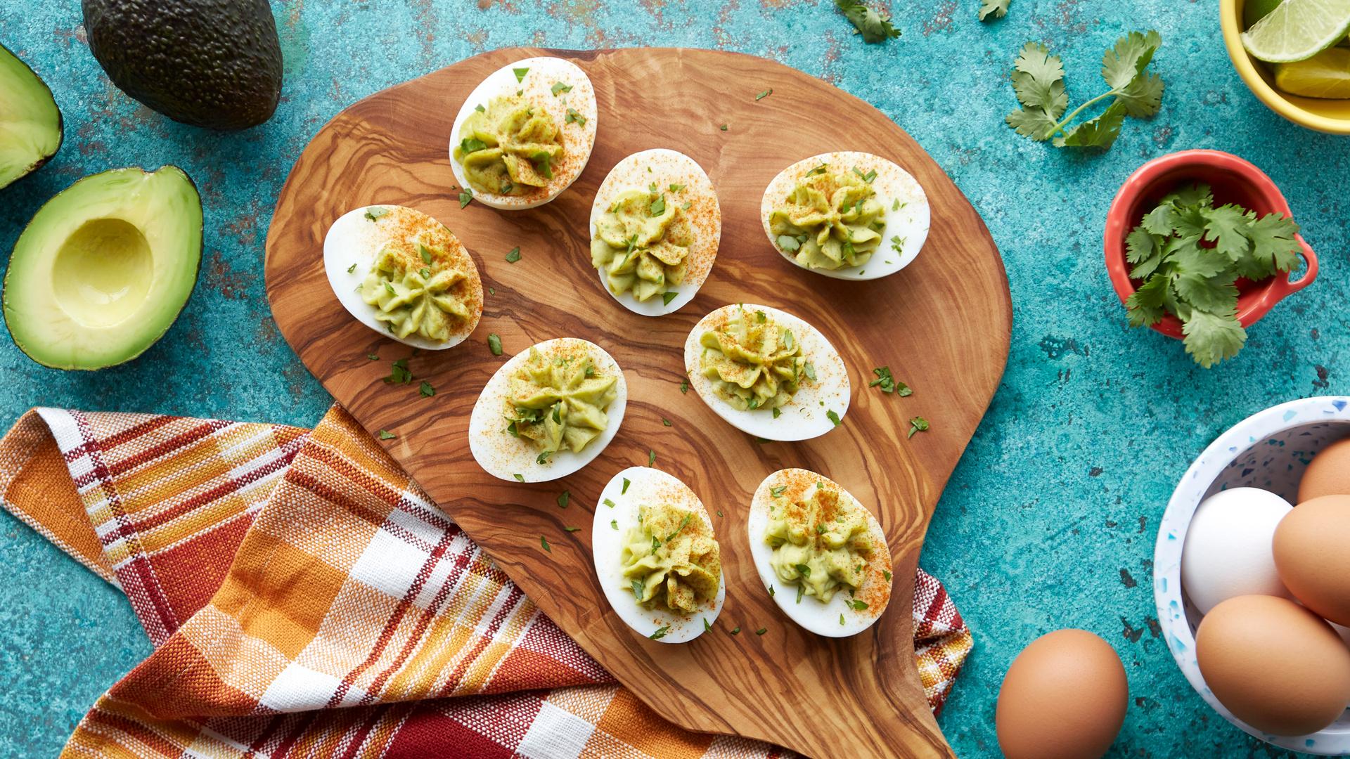 Chef Dale MacKay's avocado-lime-cumin devilled eggs recipe