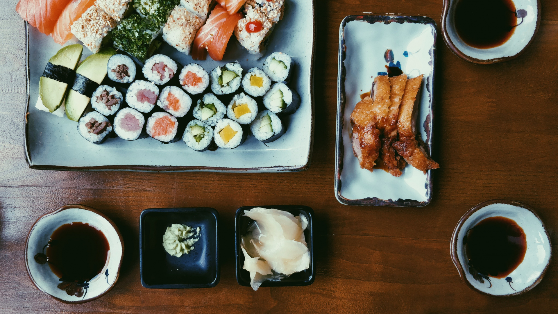 The best sushi in Toronto | A platter of assorted maki rolls