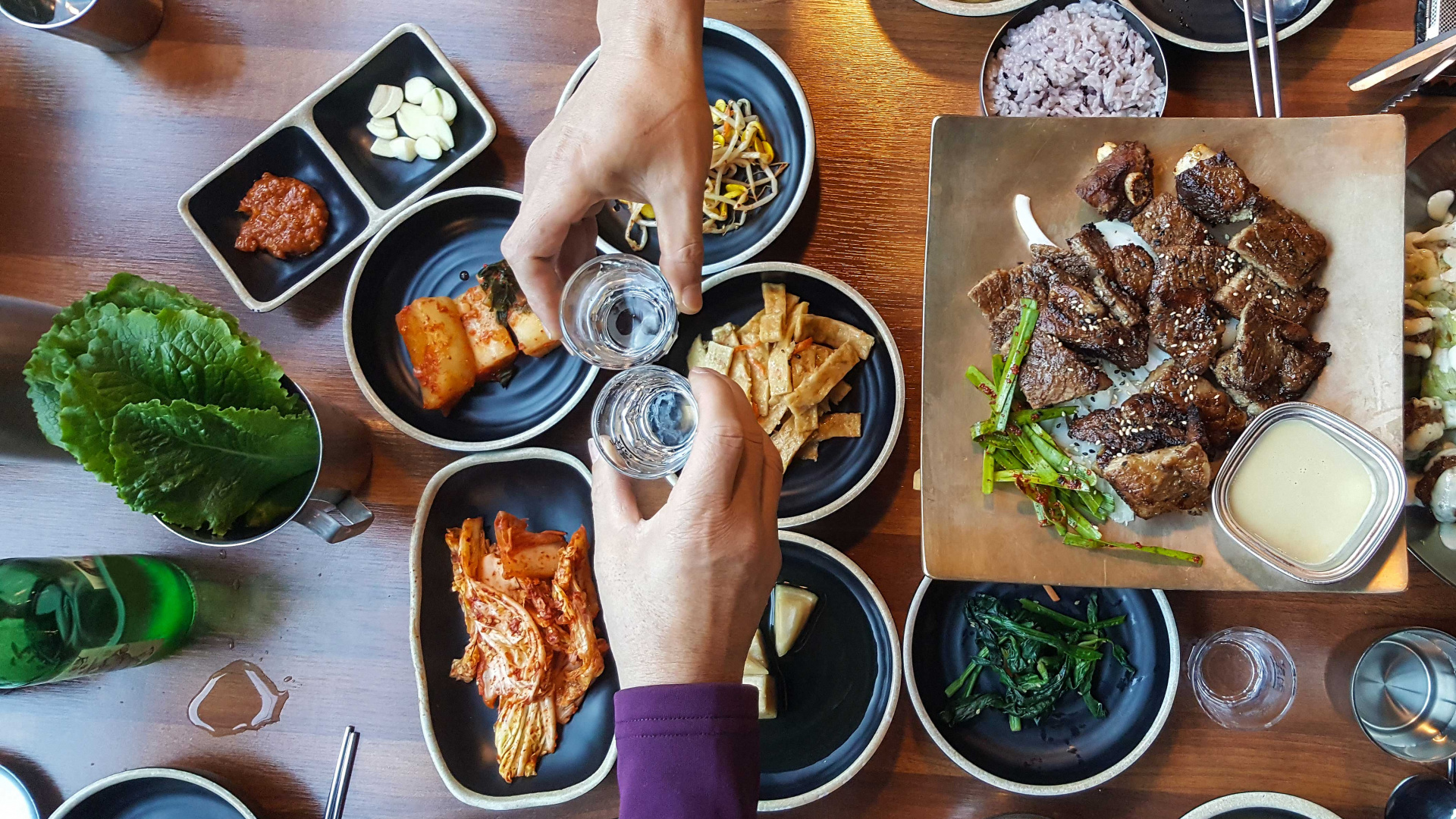 What is soju? Drinking a South Korean meal with the country's national drink