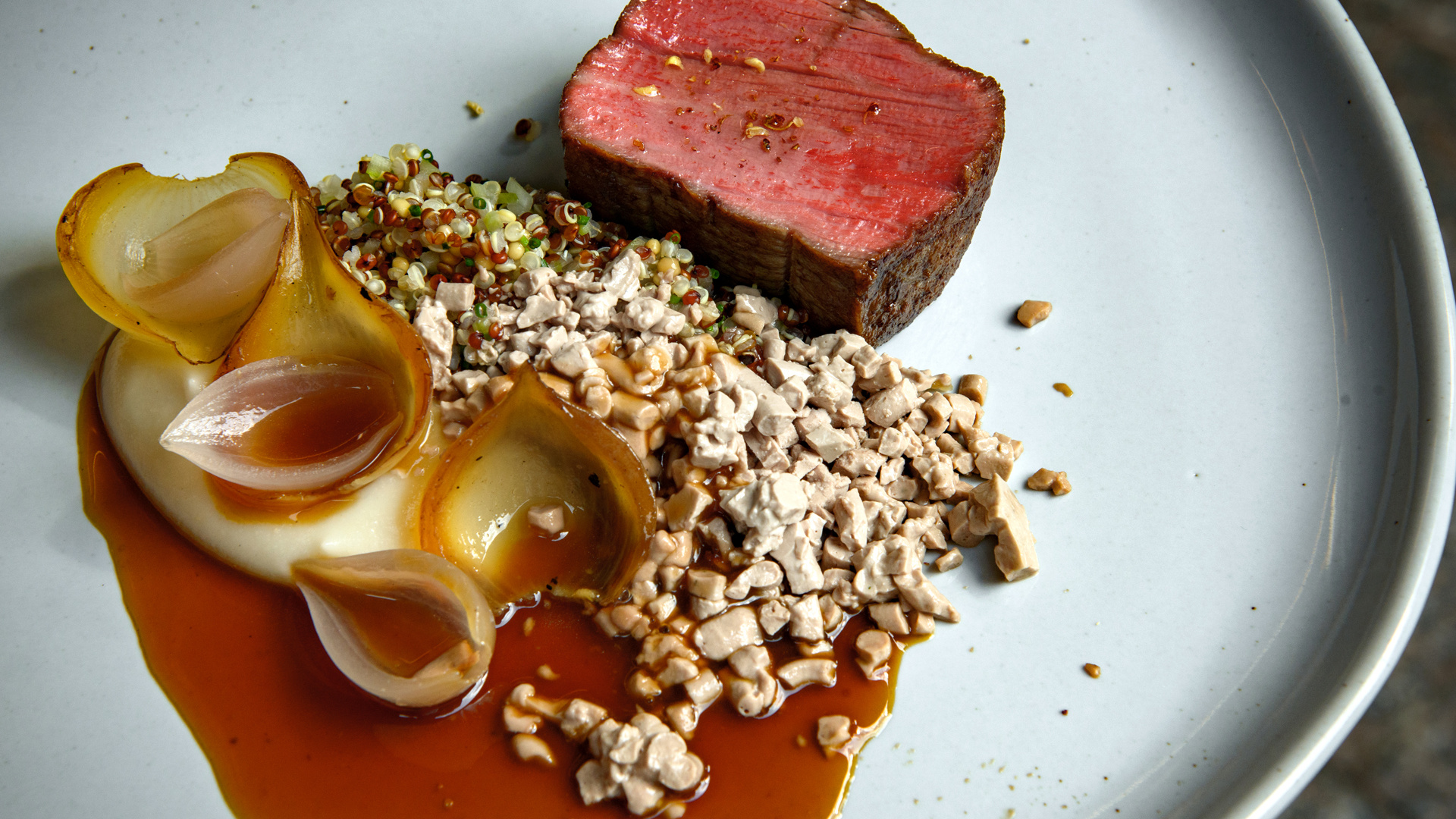 The best new restaurants in Toronto | A dish from Enigma Fine Dining in Yorkville