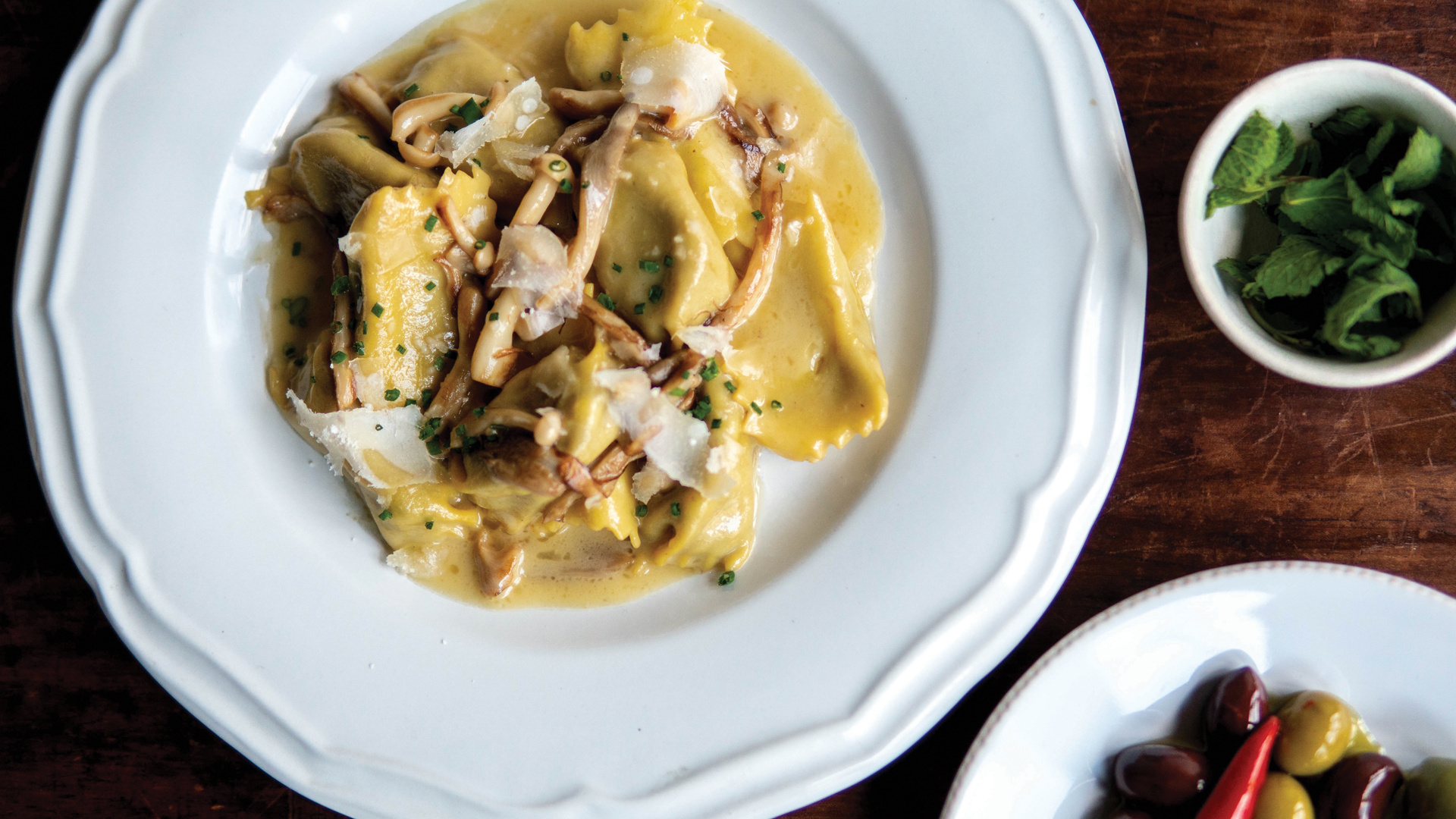 The best Italian restaurants in Toronto for pasta | Mushroom agnolotti at Ufficio
