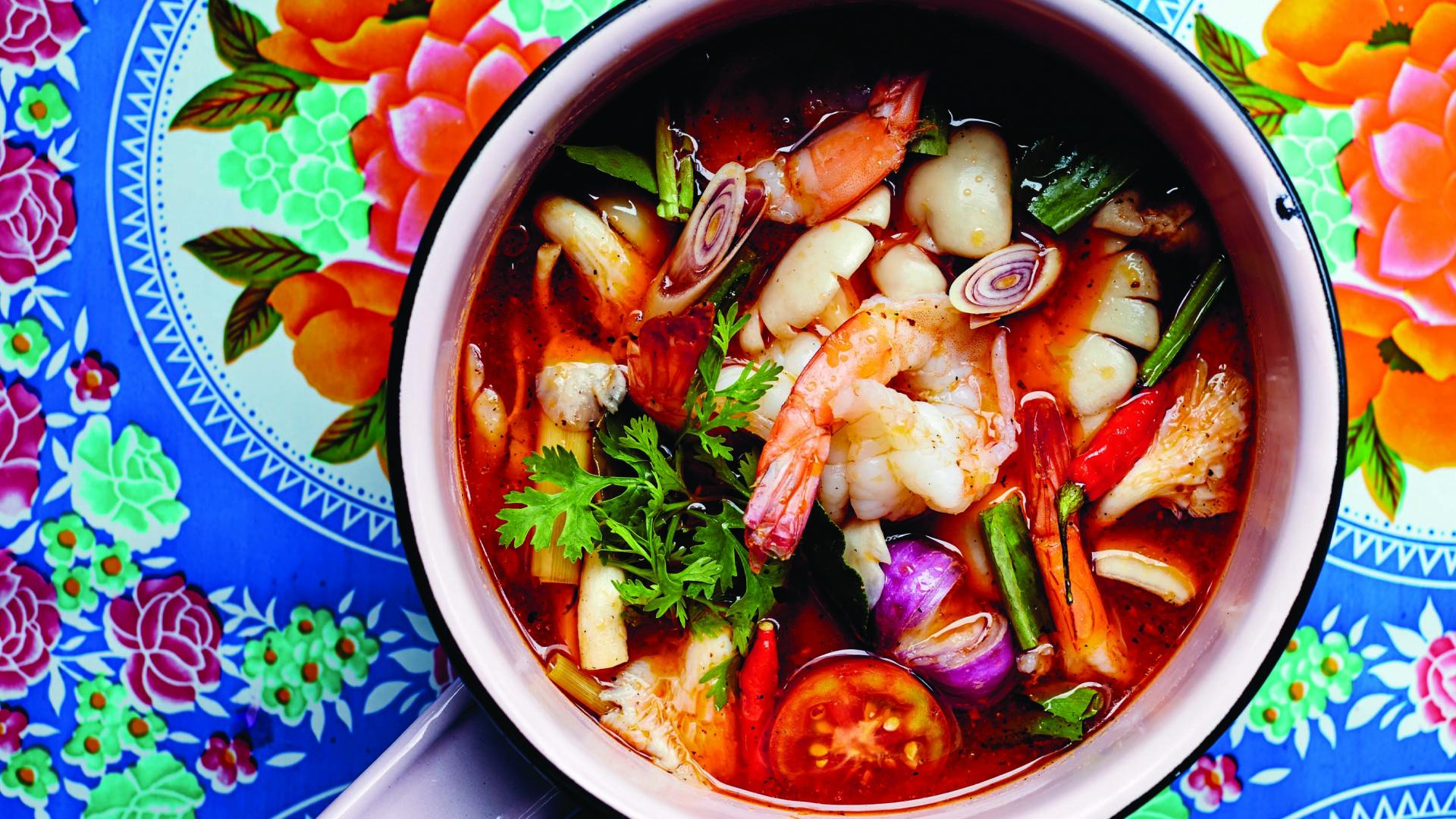 Kiin by Nuit Regular | Tom yum soup