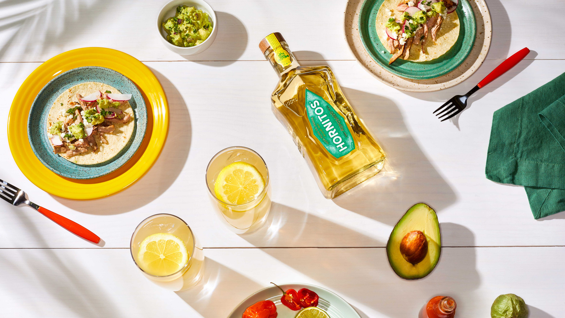 Cinco de Mayo | Hornitos Tequila Jalisco tea cocktail