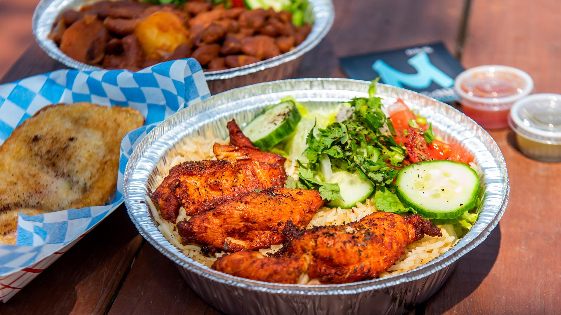 The best Toronto food markets   A chicken dish from Market 707