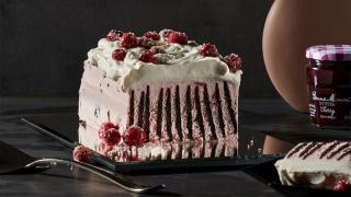 Cherry mascarpone ice box cake with Bonne Maman INTENSE Fruit Spreads