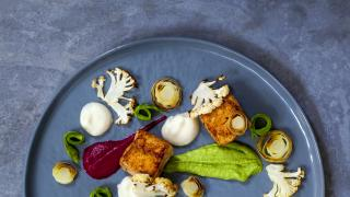 A look at Toronto's fine dining scene | A fine dining dish