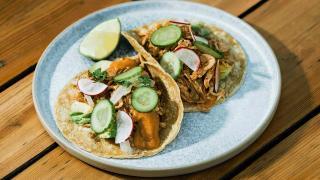 Toronto's best tacos   Tacos on the patio at El Rey Mezcal Bar in Kensington Market