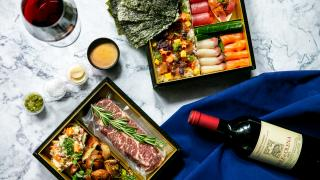 Father's Day dinners and Father's Day gifts   Dad's Wagyu Meal Kit for Two and Father's Day Temaki Kit from Minami Toronto