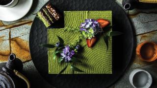 Picnic recipes: Minami's Matcha Chocolate Hazelnut Layer Cake