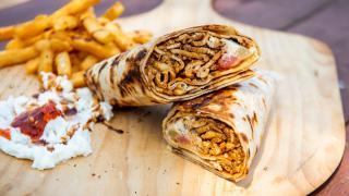 The best shawarma in Toronto   A chicken shawarma wrap from Chef Harwash