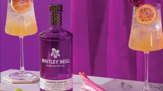 Queen's Spritz with Whitley Neill Rhubarb and Ginger Gin