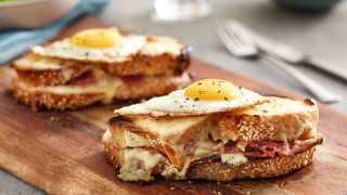 Make this delicious croque madame sandwich