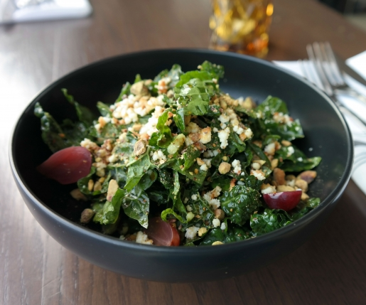 Make This: The One Eighty's Black Kale Salad with Burnt Maple Vinaigrette